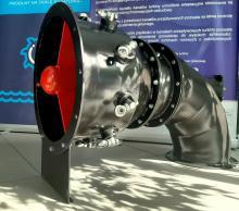model turbiny