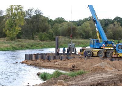 MEW SHP Dobroszow Mała Elektrownia Wodna budowa