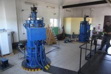 MEW Mała Elektrownia wewnątrz z turbiną Kaplana